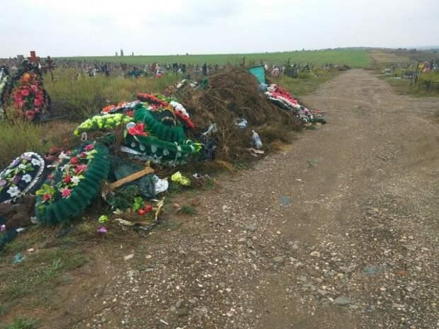 В Крыму на кладбище творится «нечто страшное»