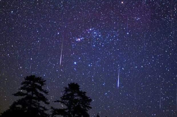 метеоритные дожди и китай