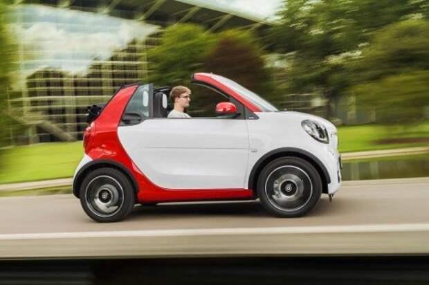 В линейку Smart ForTwo вернулся кабриолет (ФОТО)