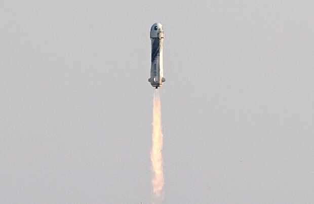 Полет Джеффа Безоса в космос. Как это было