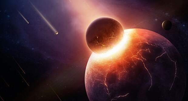Жизнью Земля обязана древней планете Тейя