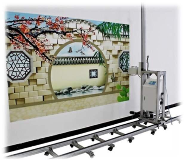Принтер для печати изображений на стенах