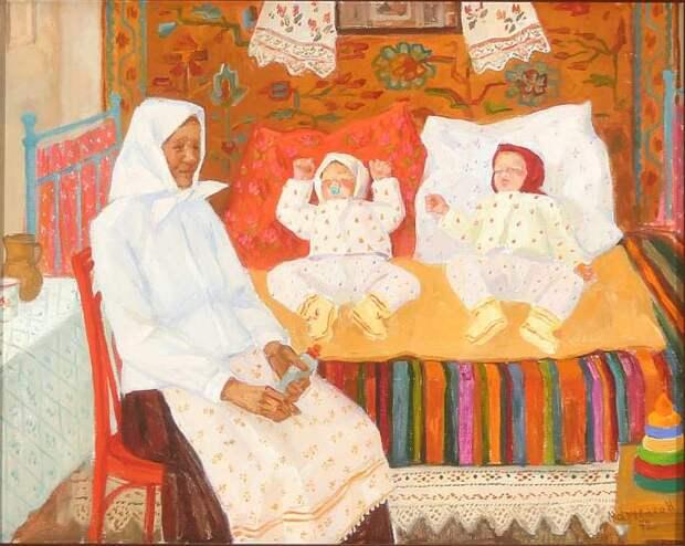 Марченко Нина. Близнецы 1972