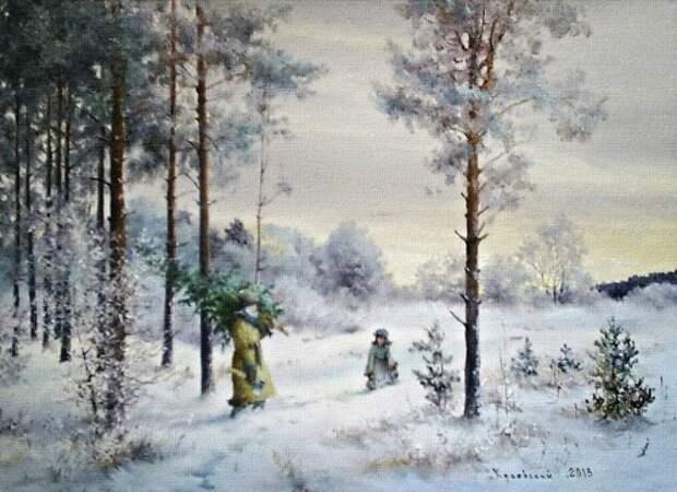 художник Владимир Краевский картины – 43