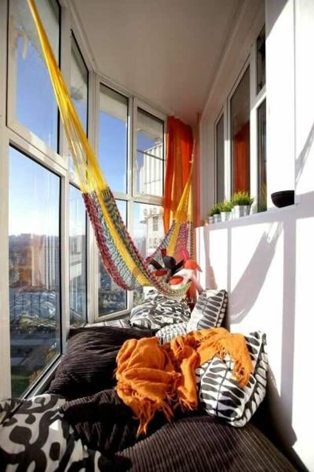 Красивый балкон: 10 крутых идей интерьера