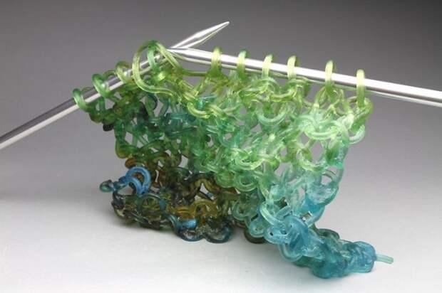 Вязание из стекла