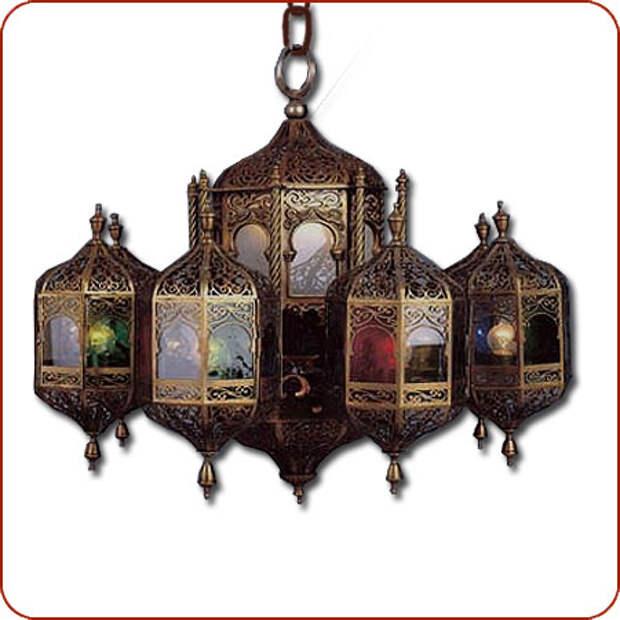 Марокканские светильники
