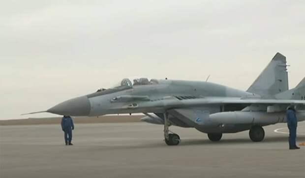 Сообщается об очередном происшествии с МиГ-29 в Астраханской области