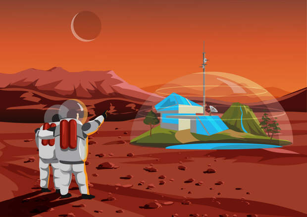 На Марсе начали искать жизнь. Пару часов назад