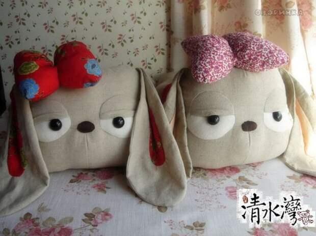 очень милые подушки собачки