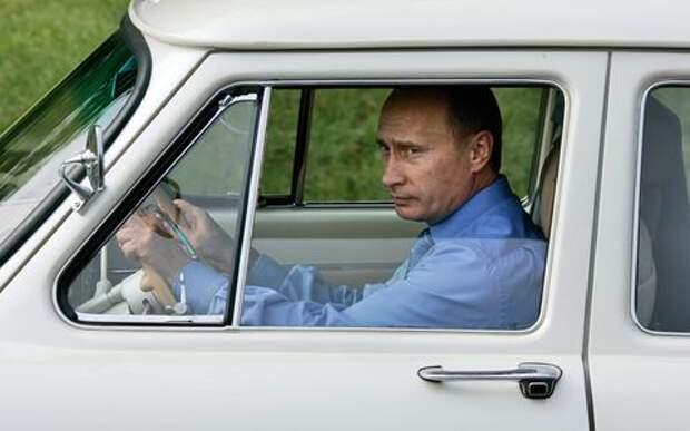 За прошлый год Владимир Путин не купил ни одной машины