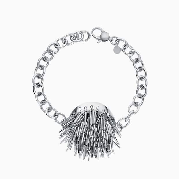 Браслет-цепочка SL, серебро