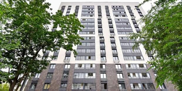 Заселение в дом по реновации на Шереметьевской начнётся осенью