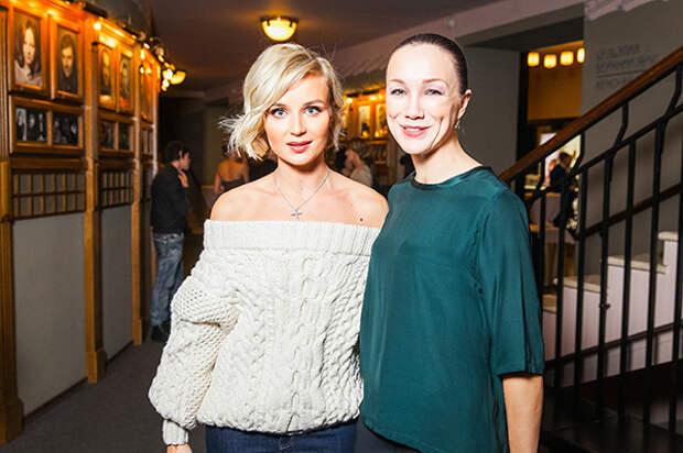 Полина Гагарина и Дарья Мороз