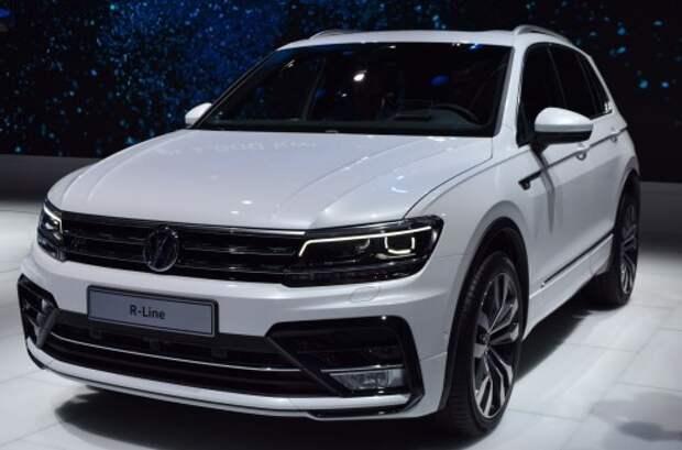 Volkswagen может начать выпуск Tiguan нового поколения в Калуге