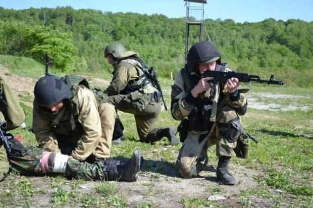 Разведгруппу ВСУ свои же и накрыли плотным огнём