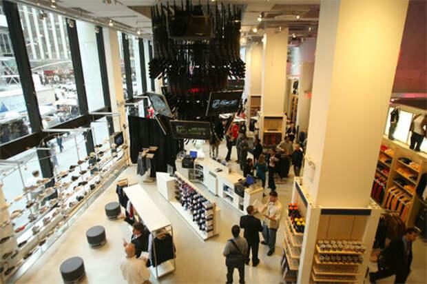Reebok и NHL открыли первый совместный магазин «NHL powered by Reebok»