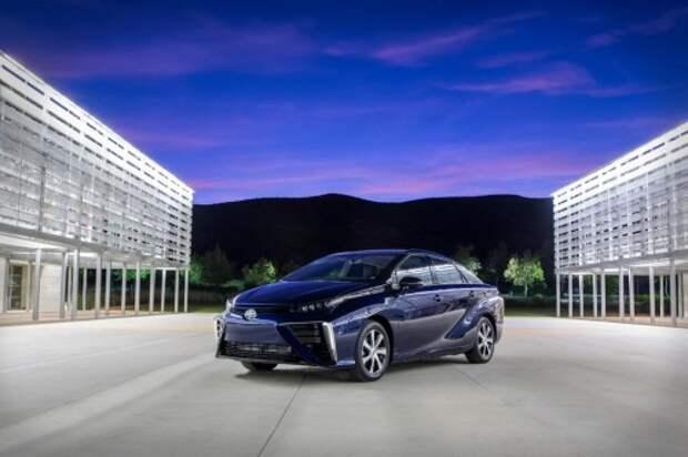 Водородомобиль Toyota Mirai