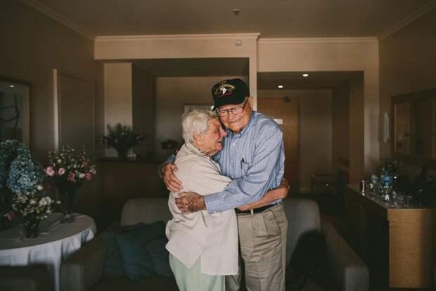 Трогательная история: ветеран нашел свою возлюбленную спустя 70 лет история, любовь, люди