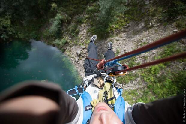 ropejumping38 Прыжок в Сухое озеро