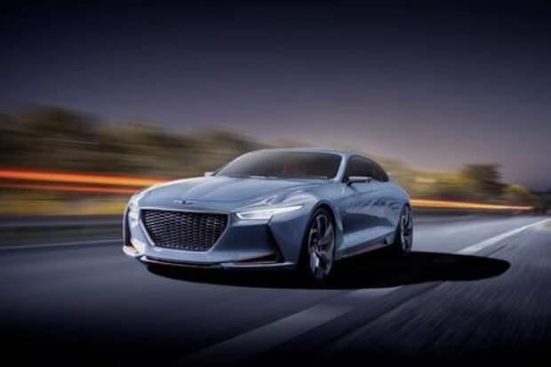 Genesis пригрозил «трешке» BMW гибридным концептом