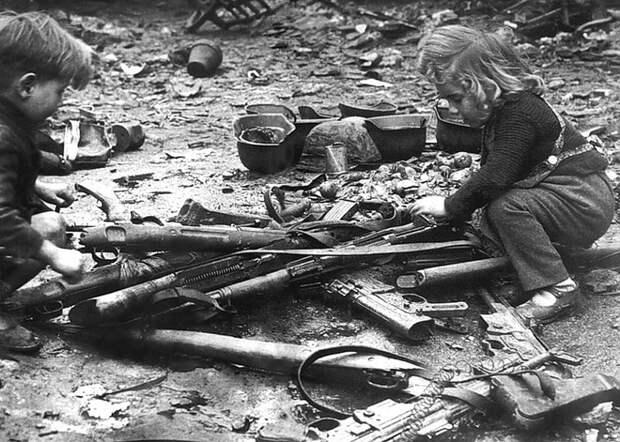 Послевоенный Берлин. 1945 год.