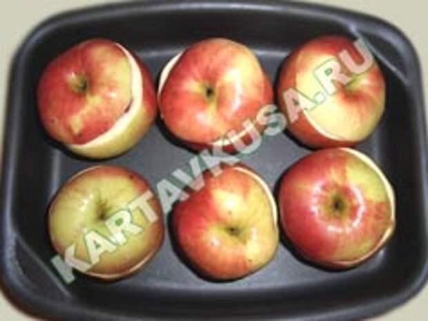 запеченные яблоки в духовке | приготовление - 4 шаг