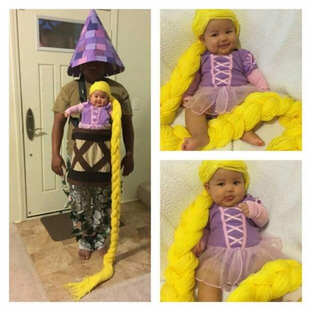 Крутой костюм для малышки