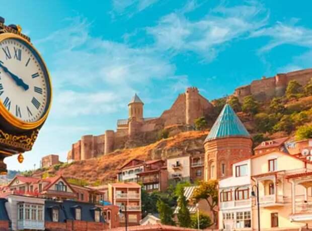 День освобождения Тбилиси. Радужный флаг пал