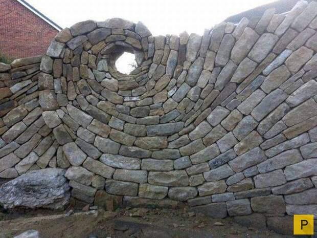 Стена-забор