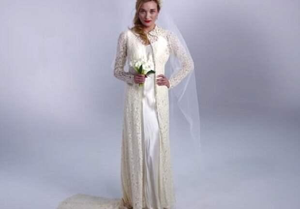 100 лет эволюции свадебного платья за три минуты
