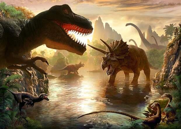 Динозавры произошли от одного общего предка