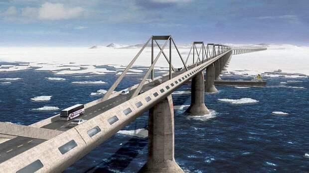 На Дальнем Востоке будет осуществлятся глобальный проект, строительство моста на Сахалин