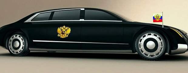 Автомобиль для Президента России будет носить имя «Мономах»?