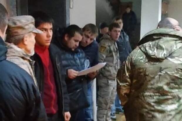 Боевики с оружием захватили горсовет в Кривом Роге