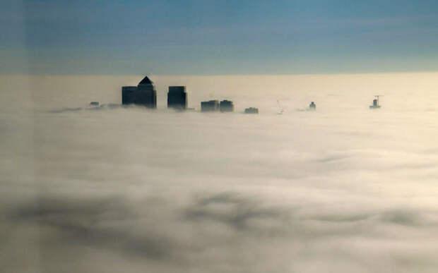 Невероятный туман, который накрыл всю Британию