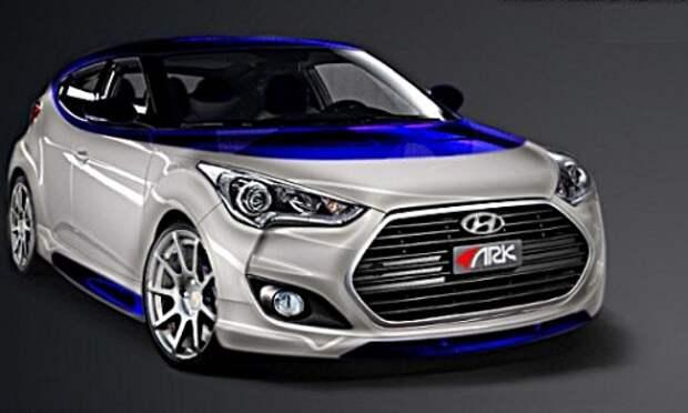 Hyundai сделал спецверсию Veloster для любителей горных видов спорта