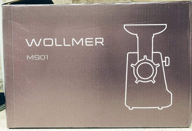Обзор стильной и мощной Мясорубки Wollmer M901.