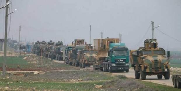 Российские ВКС уничтожили в Сирии турецкие танки и бронеавтомобили