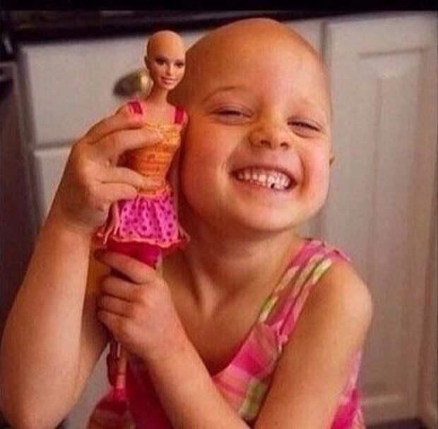 Барби после химиотерапии