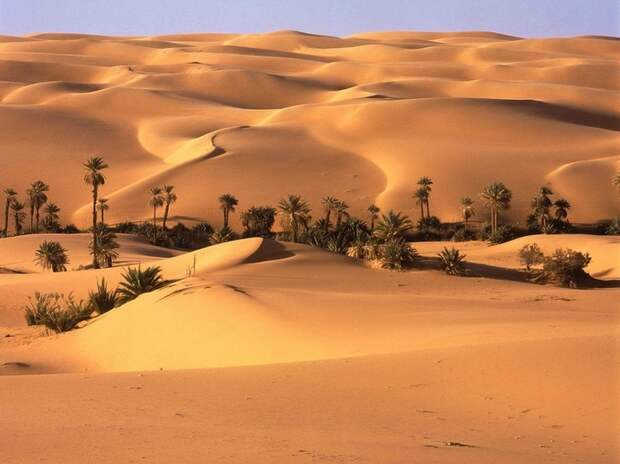 Эль-Азизия (Ливия), самое жаркое место на Земле. Фото / El Azizia. Photo