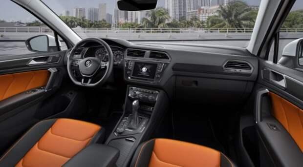 Volkswagen представил новый Tiguan (ВИДЕО)