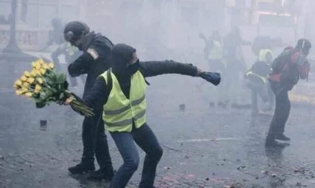 Беспорядки в Париже глазами американцев и других гостей французской столицы