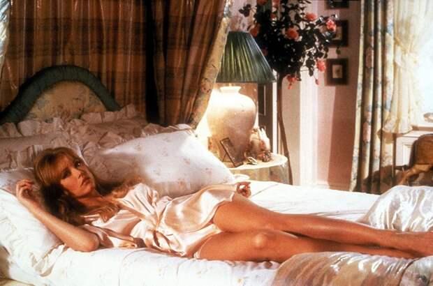 Американская актриса, секс-символ начала 80-х Таня в роли Стейси Саттон в фильме «Вид на убийство», 1985 год.