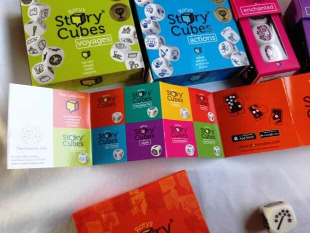 Кубики Историй (Story Cubes) или как стать писателем