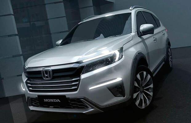 Honda BR-V готов к смене поколений