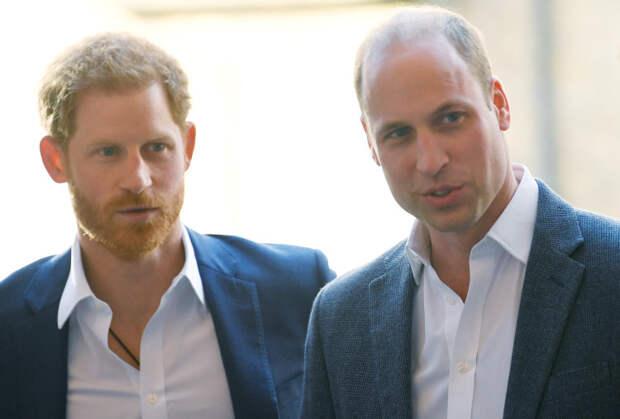 Стала известна реальная причина вражды принцев Уильяма и Гарри