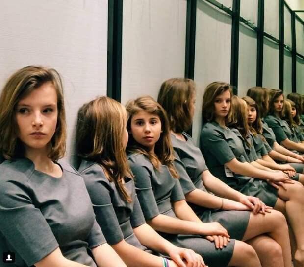 Сколько девочек на фото?
