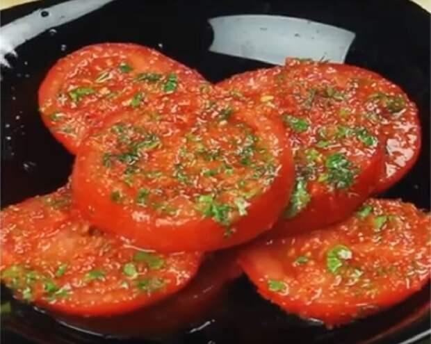 маринованные помидоры быстрые