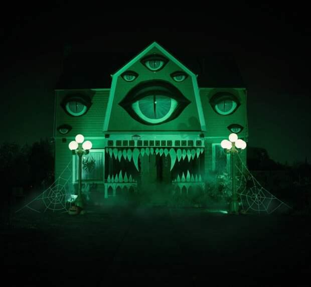 Декор дома на Хеллоуин